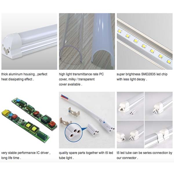 Integrated T8 Led Tube Light Chinaproled